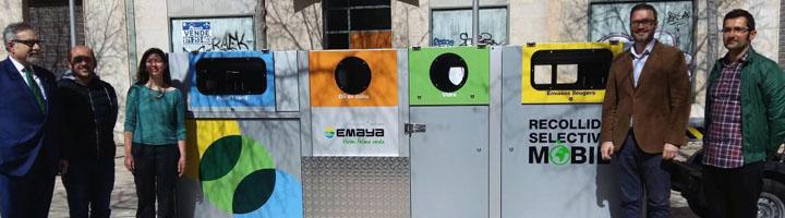 EMAYA presentan los nuevos vehículos para implantar la primera fase de la Recogida Selectiva Móvil del centro histórico