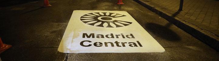 Madrid crea un área restringida al tráfico para reducir en un 40% la emisión de contaminantes en el centro de la ciudad