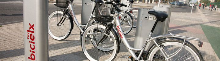 Elche ampliará a principios de año el servicio BiciElx con cuatro nuevas estaciones de bicicletas