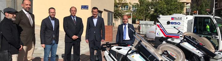 Elche incorpora nueve vehículos de última generación para mejorar el servicio de limpieza viaria
