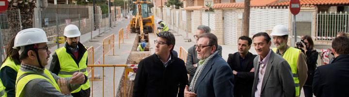 La Diputación de Valencia invierte más de 8 millones de euros en alcantarillado y colectores para evitar inundaciones