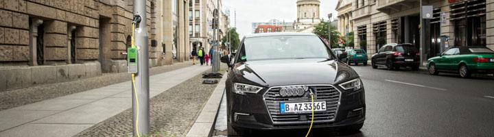 Siemens impulsa el uso de farolas urbanas como puntos de recarga para vehículos eléctricos