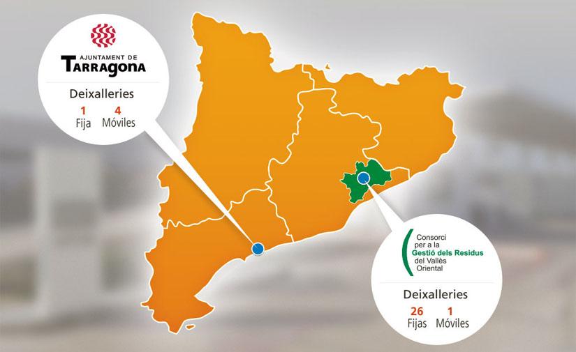 Ecocomputer ya supera las 30 deixalleries digitalizadas en Cataluña