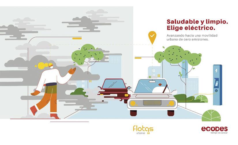 ECODES impulsa la electrificación de las flotas para transformar la movilidad urbana