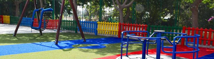 Mogán cuentan con nuevos juegos infantiles adaptados para personas con movilidad reducida