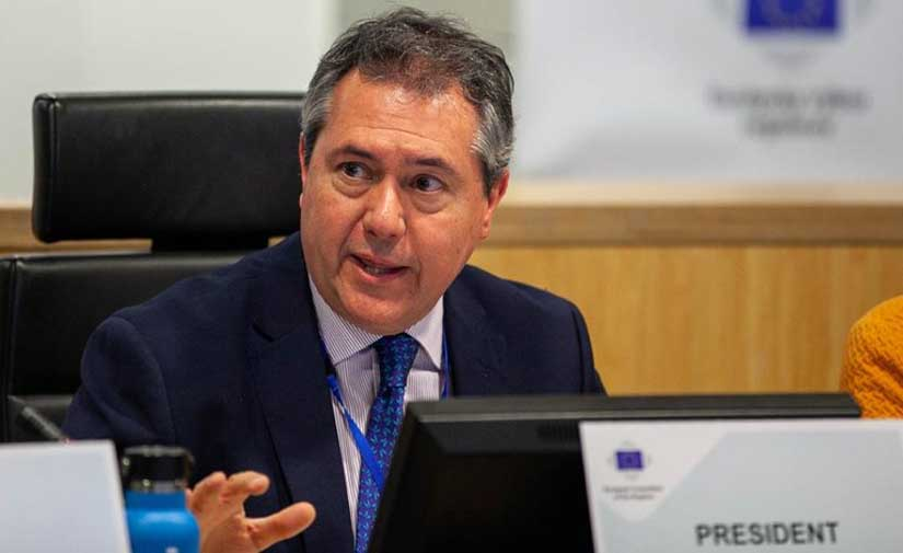 El alcalde de Sevilla presenta ante la Unión Europea seis proyectos urbanos y sostenibles innovadores