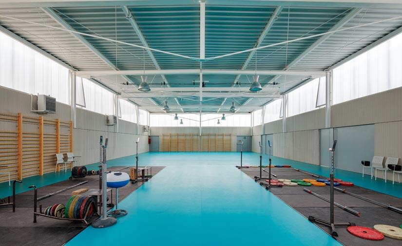 El AMB finaliza la zona deportiva 'Ricard Ginebreda' de Molins de Rei