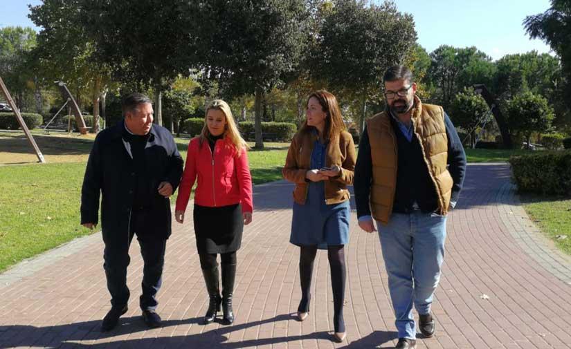 El Ayuntamiento de Alcalá de Guadaíra destina 1,2 millones de euros al año al mantenimiento de parques y áreas ajardinadas urbanas
