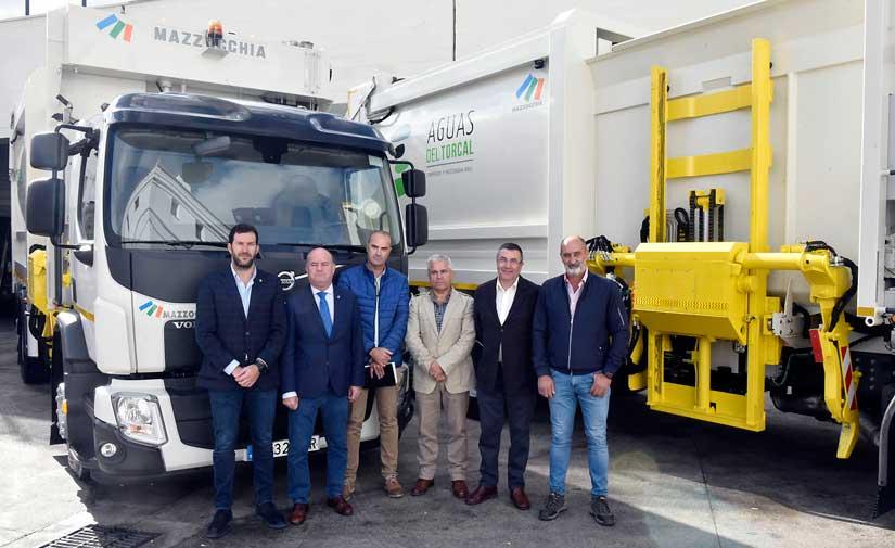 El Ayuntamiento de Antequera invierte más de medio millón de euros en nuevos vehículos de recogida de basura