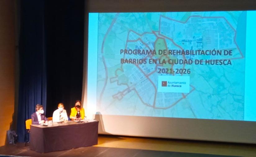 El Ayuntamiento de Huesca presenta un proyecto de regeneración urbanística para toda la ciudad