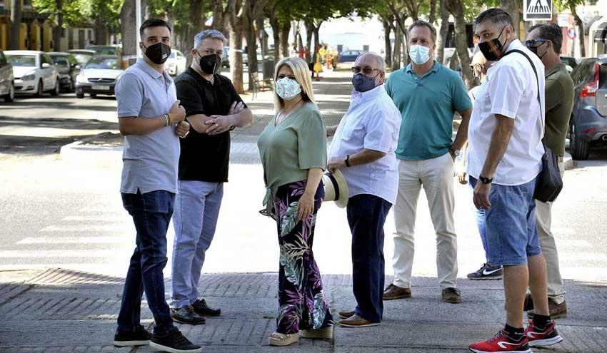 El Ayuntamiento de Jerez destina 600.000 euros al servicio de mantenimiento y reparación de la vía pública