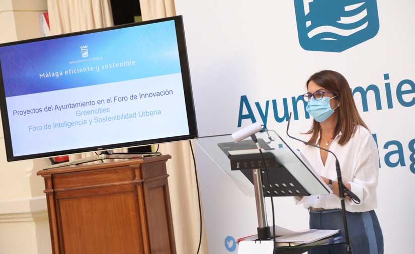 El Ayuntamiento de Málaga presenta en Greencities una veintena de proyectos innovadores y sostenibles