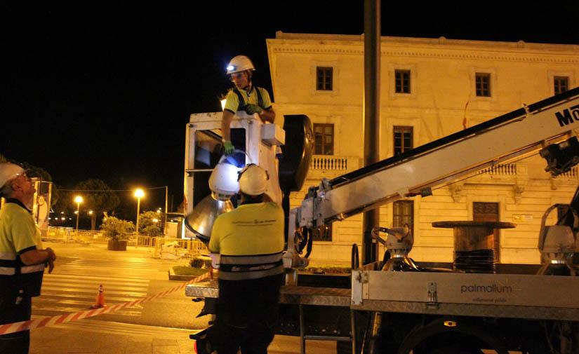 Palma ya cuenta con 3.501 nuevas luminarias LED que evitan la emisión de 288,76 toneladas de CO2 durante 2019