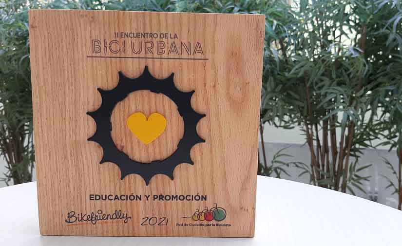 El Ayuntamiento de Pamplona recibe un primer premio Bikefriendly