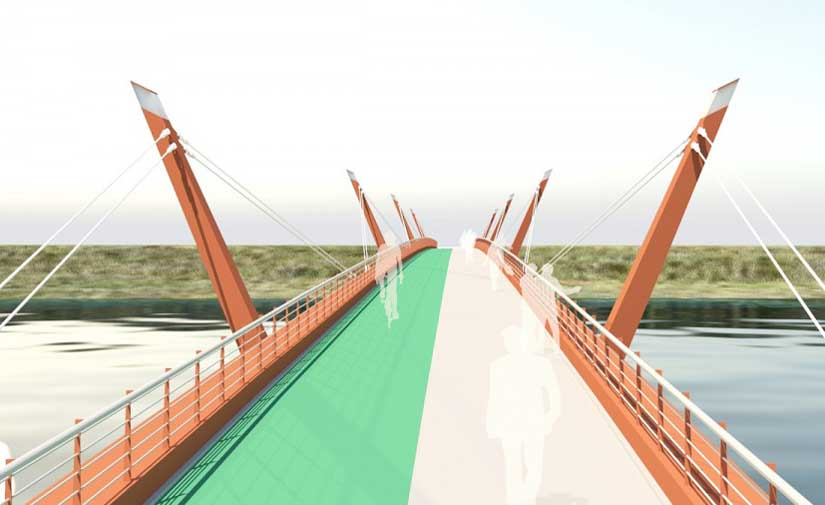 El Ayuntamiento de Salamanca licita las obras para una nueva pasarela peatonal y ciclista sobre el río Tormes