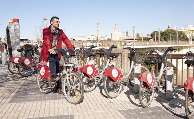 El Ayuntamiento de Sevilla reanuda el servicio público de alquiler de bicicletas