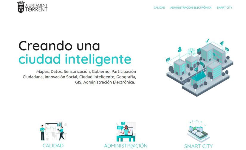 El Ayuntamiento de Torrent pone en marcha una web para dar a conocer todos los proyectos en materia de Smart City