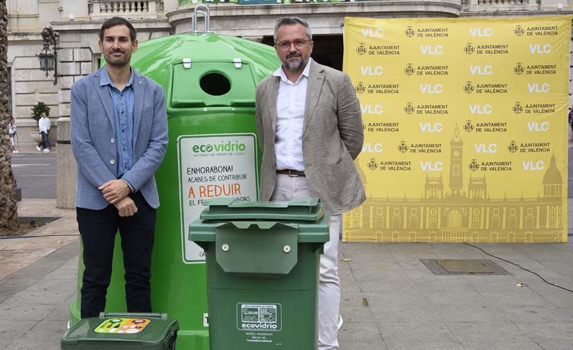 El Ayuntamiento de Valencia impulsa una campaña de reciclaje de vidrio dirigida al sector HORECA