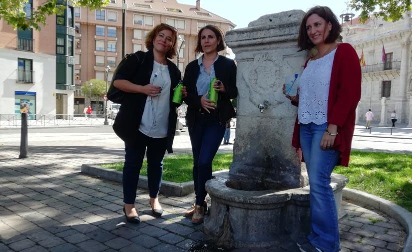El Ayuntamiento de Valladolid presenta un mapa con las fuentes de la ciudad para promover el consumo sostenible del agua