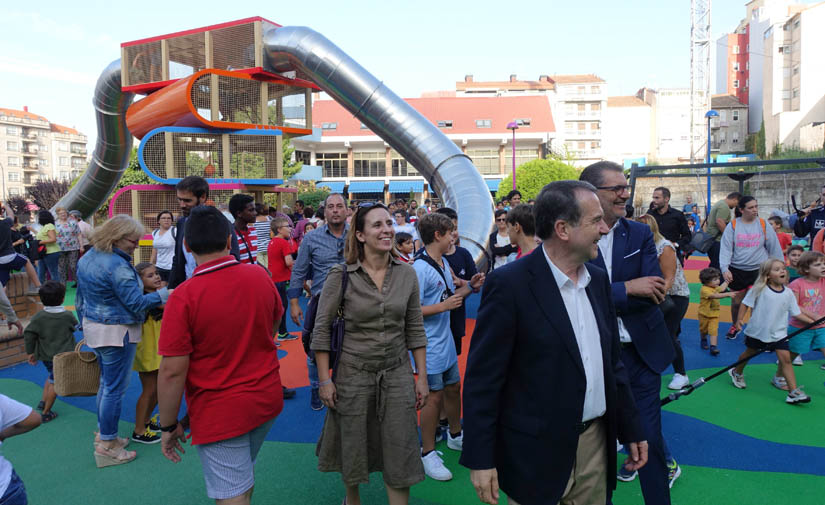 El Ayuntamiento de Vigo inaugura el macroparque infantil Maruja Mallo