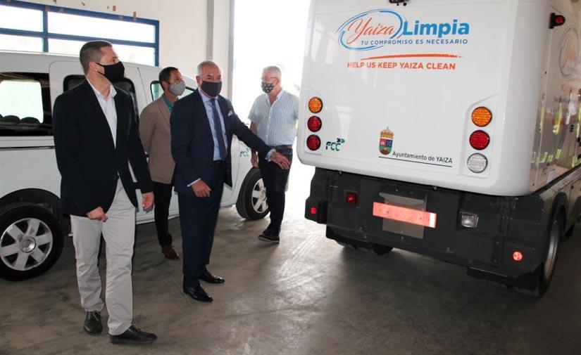 El Ayuntamiento de Yaiza pone en marcha un nuevo servicio de limpieza viaria