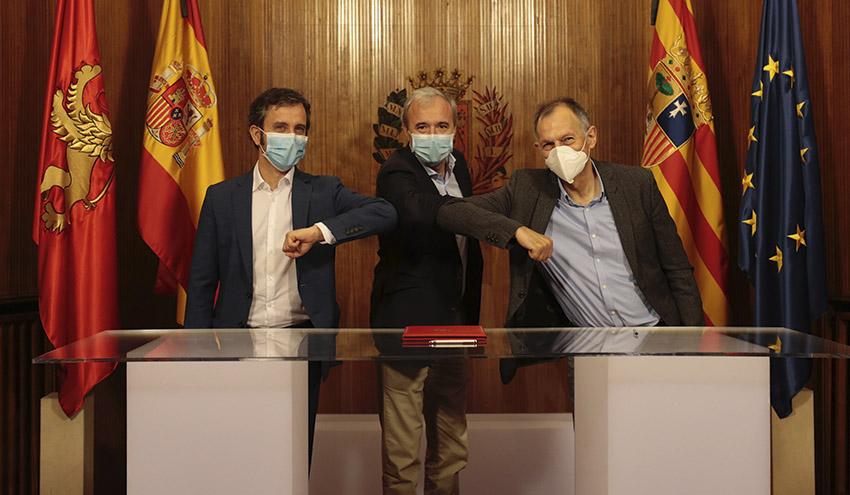 El Ayuntamiento de Zaragoza, EDP y ECODES impulsan el primer