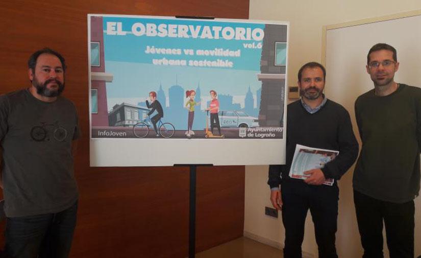 Logroño presenta el estudio sobre la movilidad urbana sostenible de los jóvenes de la localidad