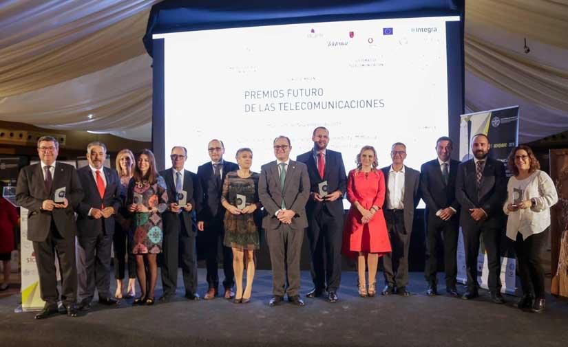 El Ayuntamiento de Murcia recibe el Premio Futuro de las Telecomunicaciones a la Innovación por el proyecto 'Smart City MiMurcia'