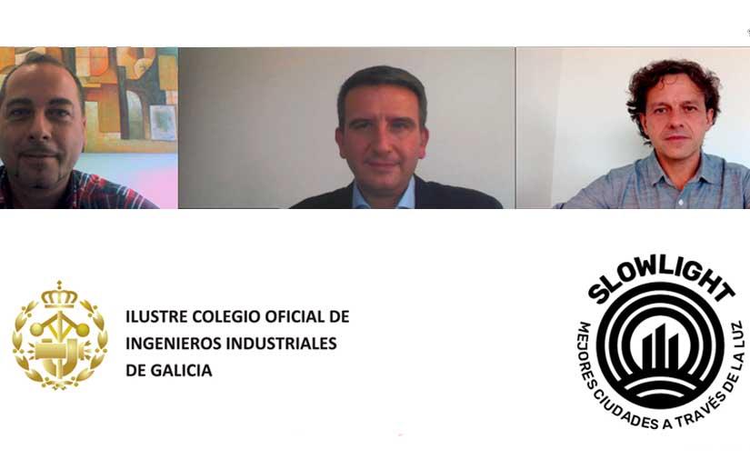 El Colegio de Ingenieros Industriales de Galicia muestra su compromiso con una iluminación pública sostenible