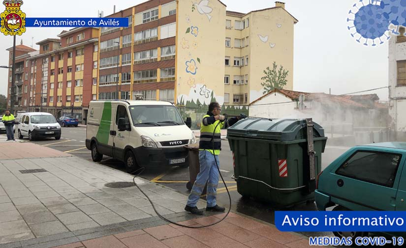 El confinamiento reduce la generación de basuras en Avilés en un 10%