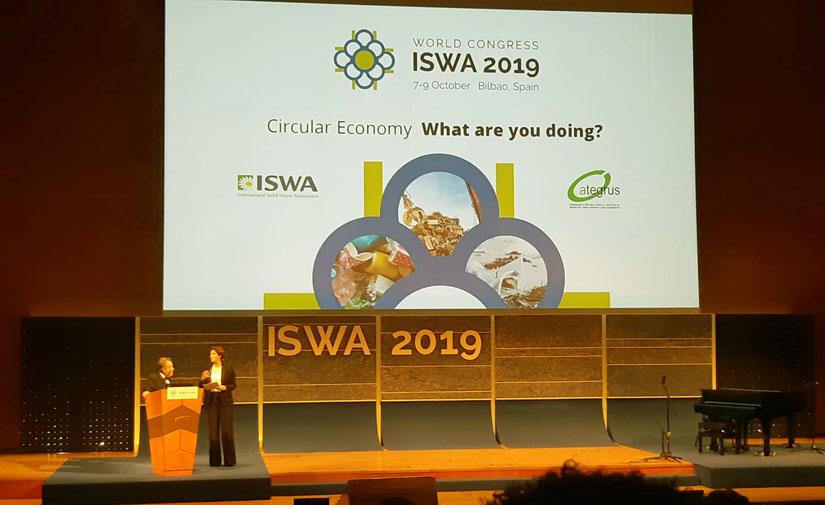 El Congreso Mundial ISWA2019 celebrado en Bilbao ha sido el mejor escaparate para la industria vasca