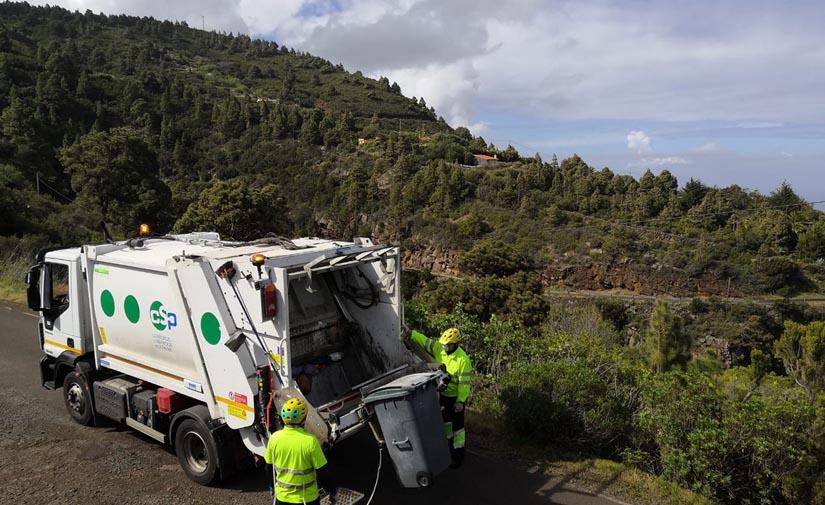 El Consorcio de Servicios de La Palma pide la colaboración de la población para hacer un uso adecuado del contenedor gris