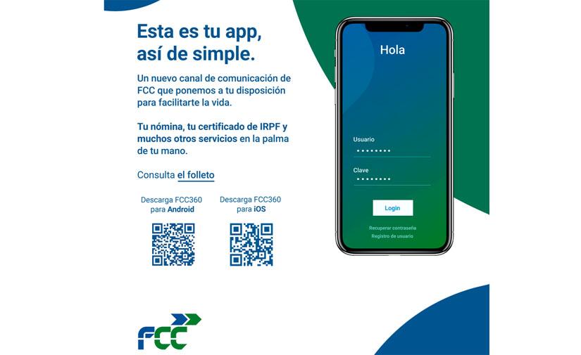 El Grupo FCC estrena su App FCC360