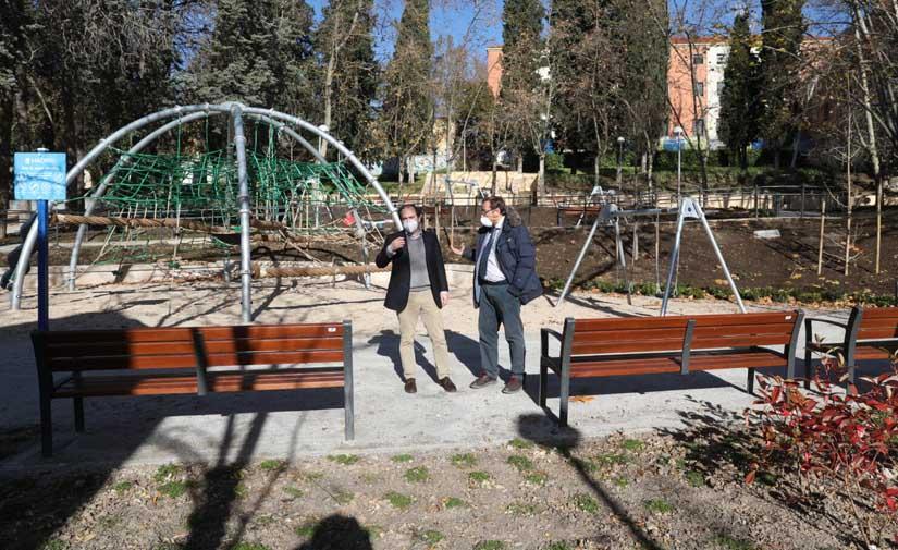 El madrileño parque Isabel Clara Eugenia, más accesible y con mejores instalaciones para los vecinos