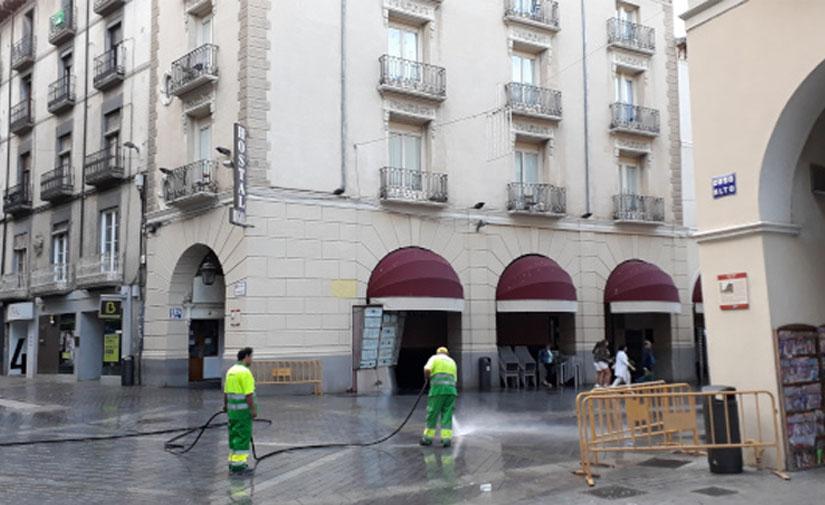 El nuevo contrato de limpieza viaria de Huesca tendrá una duración de ocho años y un valor de 22 millones de euros