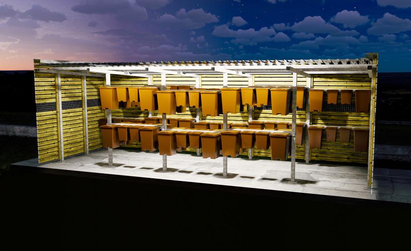 El nuevo mobiliario de Disseny Barraca mejora la recogida de residuos