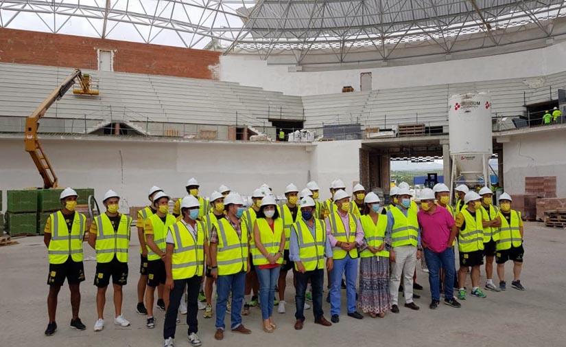 El Palacio de Deportes Olivo Arena sigue cumpliendo plazos y se podrá usar en la temporada 20-21
