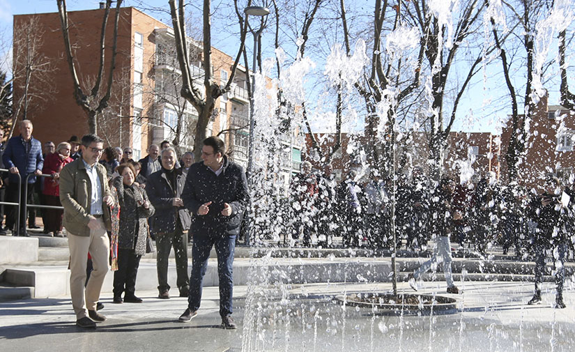 El Parque de Asturias-Cantabria en Alcobendas, un espacio verde renovado y más sostenible