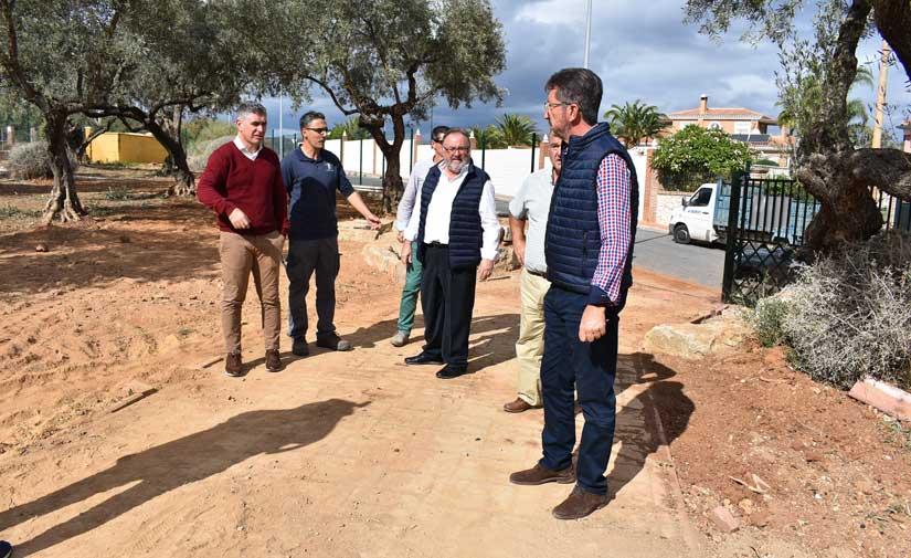 El parque de Ermita del Cerro de Alhaurín de la Torre contará con un nuevo jardín sostenible y otras mejoras