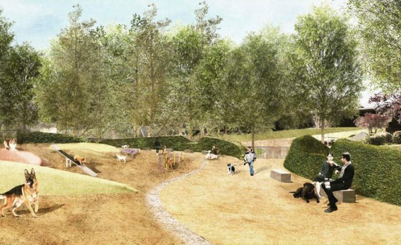 El parque de la Estació del Nord de Barcelona contará con una de las mayores zonas caninas de la ciudad