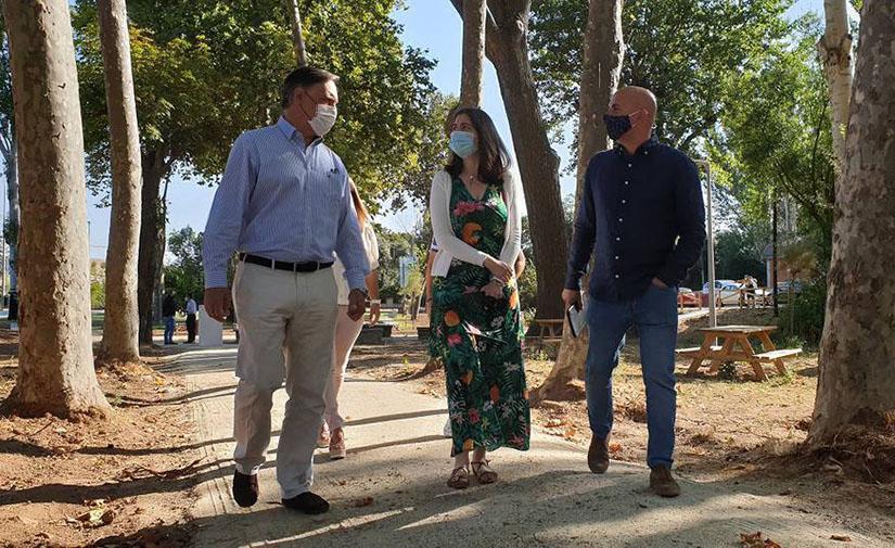 El Parque Lazarillo de Tormes se convierte en un nuevo espacio natural para la ciudad de Salamanca