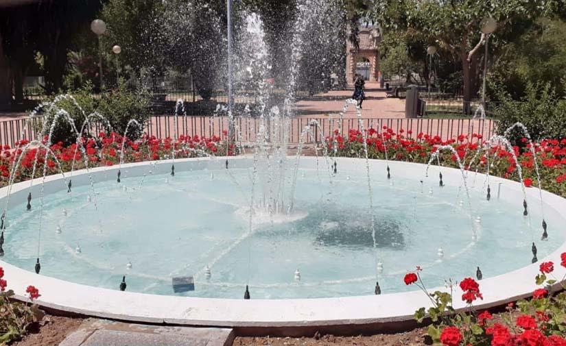 El Plan Alberca permite la rehabilitación de las fuentes y lagos de Murcia