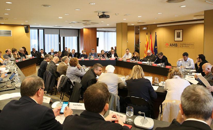 El presupuesto del Àrea Metropolitana de Barcelona para 2020 crece casi un 10%