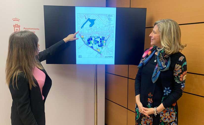 El proyecto que dotará Murcia con casi 85.000 metros cuadrados más, se somete a información pública