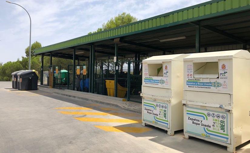 El Punto Limpio de Jaén atiende a 7.499 vecinos en los primeros seis meses del año y recepciona 32.608 objetos