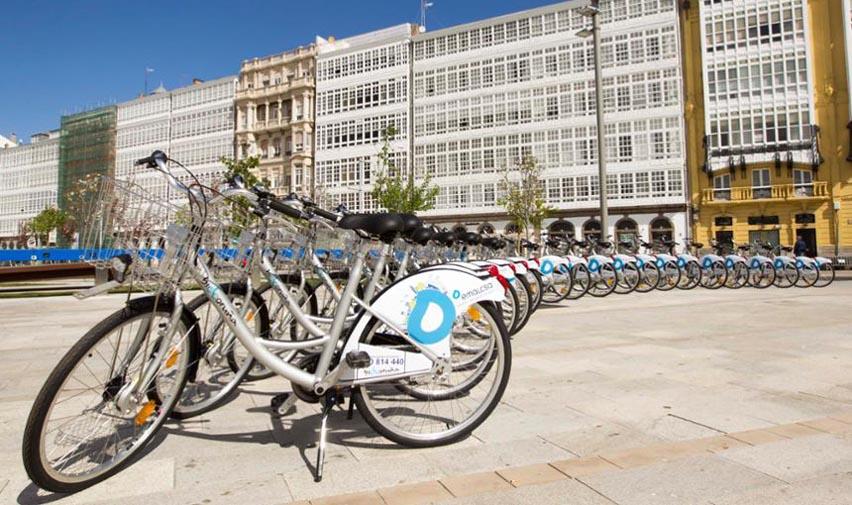 El servicio BiciCoruña contará con un total de 55 estaciones y una flota de 514 bicicletas