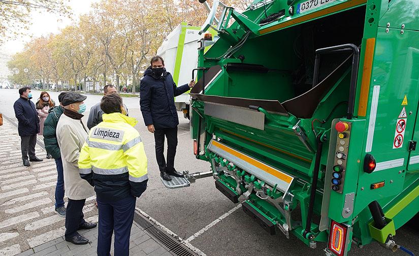 El Servicio de Limpieza de Valladolid incorpora nuevos vehículos ecológicos a su flota