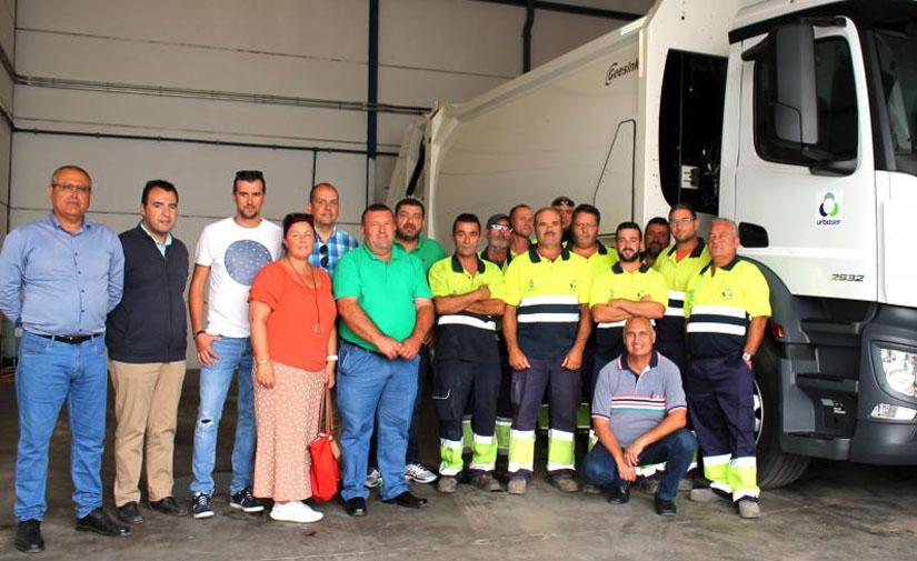 El servicio de recogida de basura en el Municipio de Antigua en primera línea de vanguardia y modernidad de Canarias