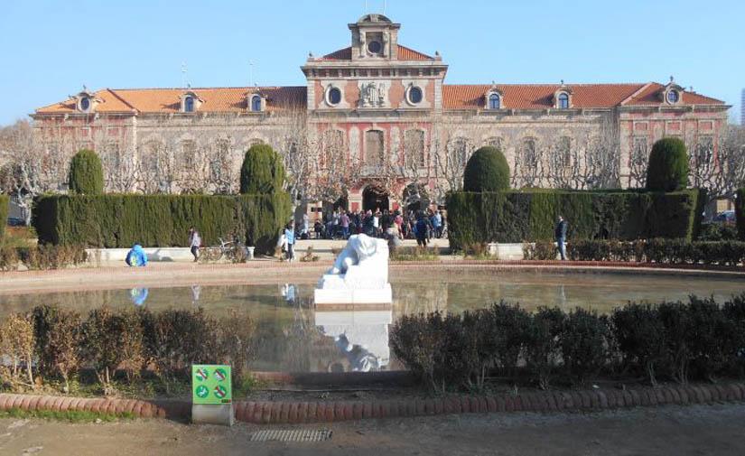 En Barcelona, empiezan las obras de mejora de la plaza de armas del parque de la Ciutadella
