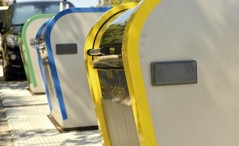 En Málaga, el uso de los contenedores amarillo y azul se ha incrementado un 30 % en los últimos 5 años